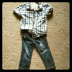 Super cute 3T boys outfit!